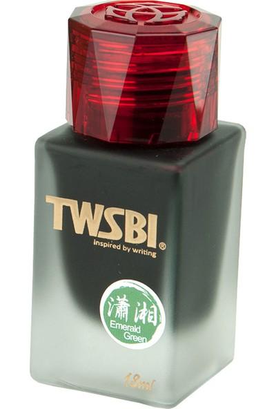Twsbi 1791 Şişe Mürekkep Emerald Green 18ml M2531040