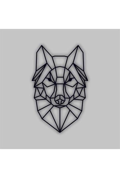 Adzen Köpek Temalı Mdf Dekor Tablo Siyah-Beyaz