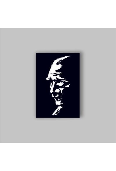 Adzen M.k.atatürk Temalı Mdf Dekoratif Tablo