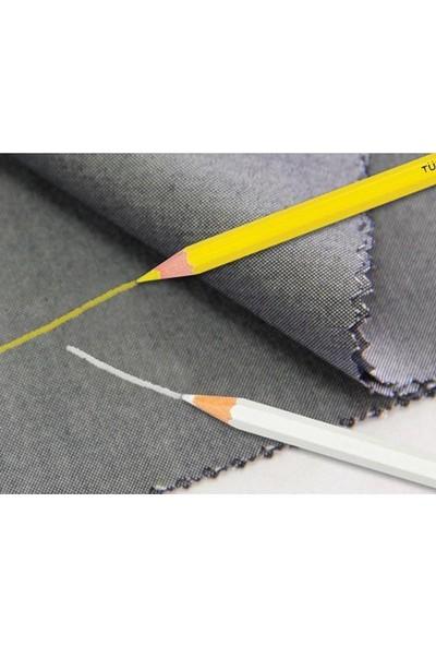 Fatih İşaret Kalemi Kuru Beyaz Tekstil Kalemi Fatih 12 'li Paket