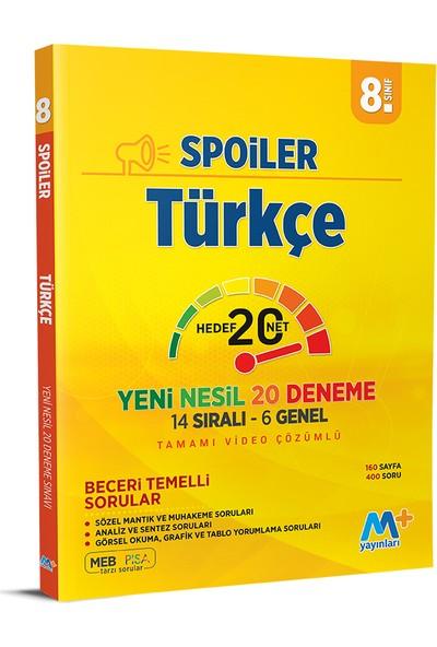 Martı Yayınları LGS Türkçe Spoiler 20 Deneme