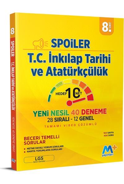 Martı Yayınları LGS T.c. Inkılap Tarihi ve Atatürkçülük Spoiler 20 Deneme