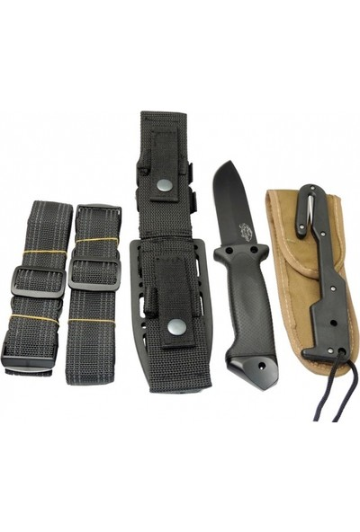 Colombia Tiger Lmf Iı Black Tactical Survival Knife