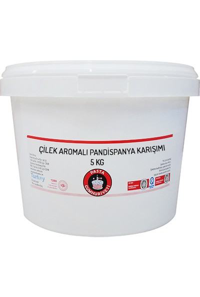 Pasta Cumhuriyeti Muz Aromalı Pandispanya için Toz Karışım 25 kg
