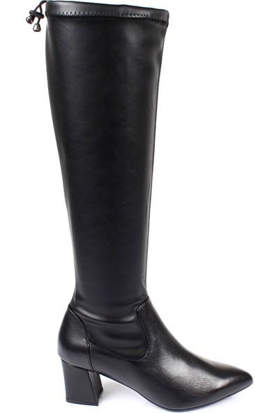 Gön Kadın Topuklu Çizme 44572
