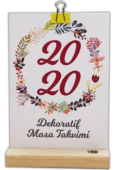 Istisna 2020 Çelenk Dekoratif Takvimi
