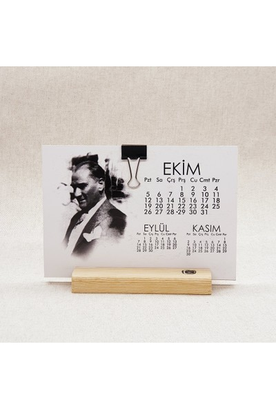 Istisna 2020 Atatürk Takvimi Dekoratif