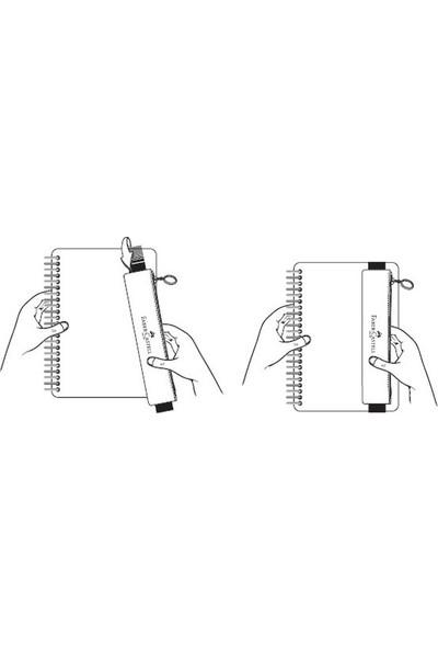 Faber Castell Lastikli Kalem Çantası Pembe