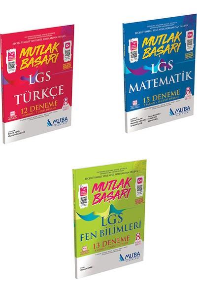 Mutlak Başarı LGS Türkçe-Matematik-Fen Bilimleri Deneme Seti