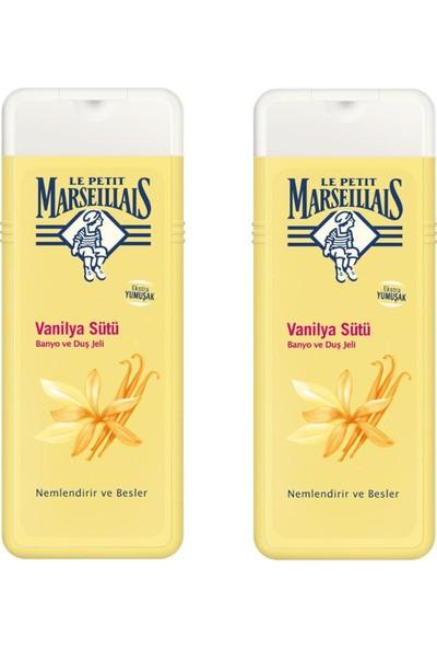 Le Petit Marseillais Duş Jeli Vanilya Sütü 400 ml 2'li