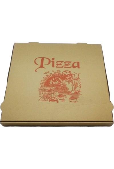 Kutu Dünyası Sıvamalı Pizza Kutusu 100'lü