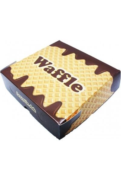 Kutu Dünyası Waffle Kutusu 100'lü