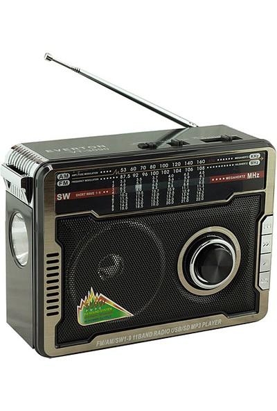 Everton Vt-3090 Radyo Siyah