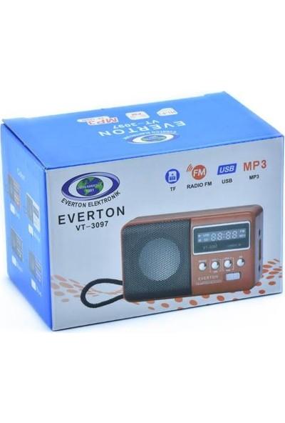 Everton Vt-3097 Radyo Kırmızı