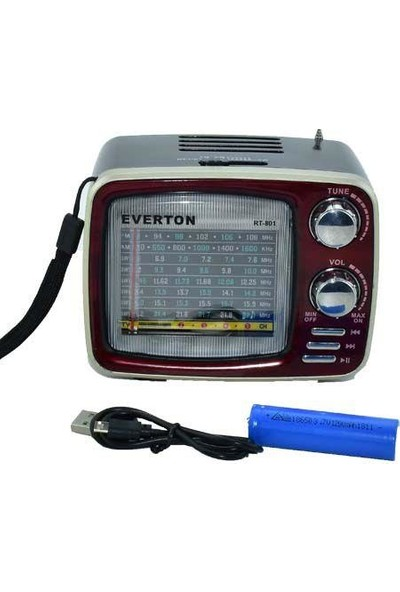 Everton RT-801 Bluetooth Nostaljik Radyo