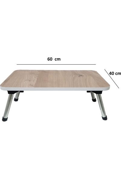 Esmahome Laptop Masası Katlanır Ayaklı 40 x 60 cm