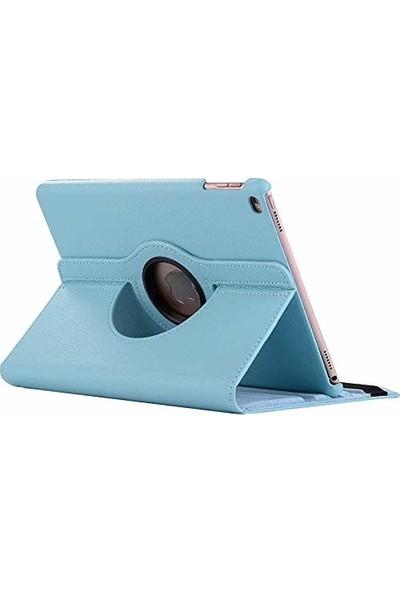 """Engo Apple iPad 7. Nesil 10.2"""" Tablet Kılıfı 360° Derece Dönerli Tablet Kılıfı Turkuaz"""