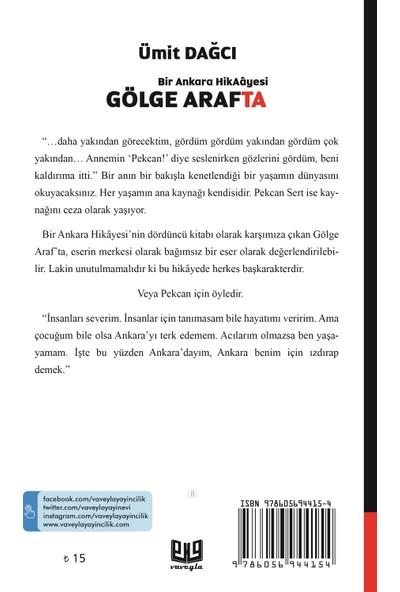 """Bir Ankara Hikayesi """"Gölge Araf'ta"""" - Ümit Dağcı"""