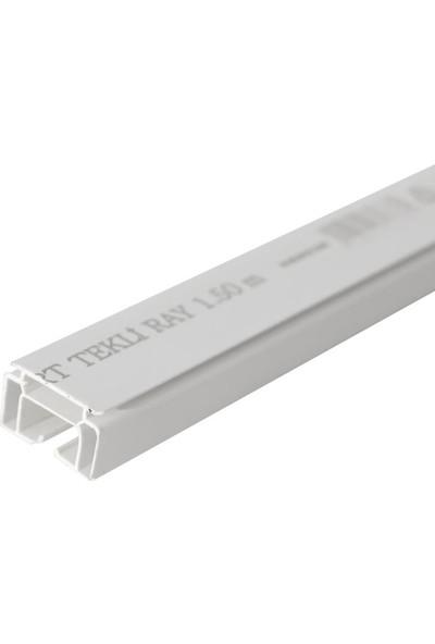 Slimflex Süper Tekli Korniş Pvc Beyaz 2 Metre