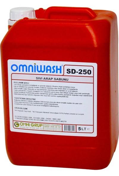 Omniwash Sıvı Arap Sabunu SD-250 5 kg
