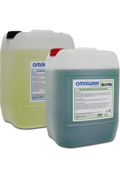 Omniwash Endüstriyel Bulaşık Makine Deterjan Parlatıcı Sd6-Sd8