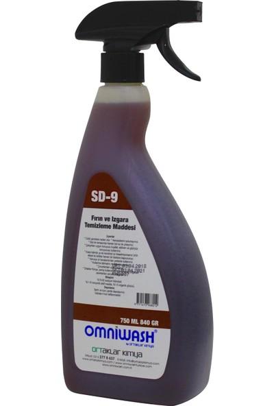 Omniwash Yağ Sökücü Fırın ve Izgara Temizleme Maddesi 750 ml Sd-9