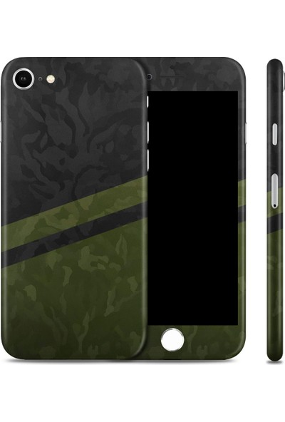 Renkli Garaj Apple iPhone 7 Premium Camo Telefon Kaplaması