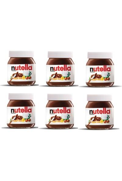 Nutella Kakaolu Fındık Kreması 6 x 400 gr