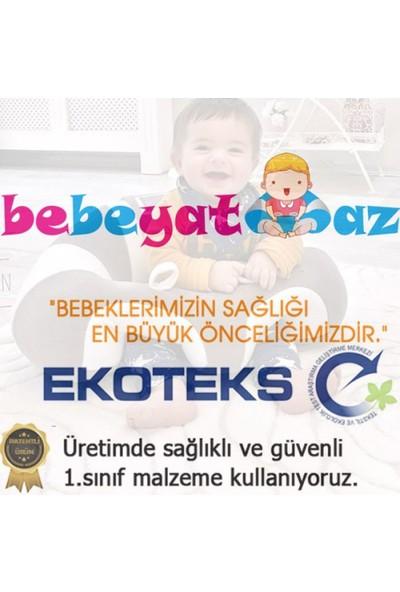 Bebe Yatmaz Bebeyatmaz Bebe Yatmaz Bebek Oturma Destek Minderi Bebek Koltuğu Lacivert Sarı