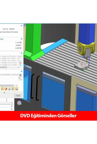 Sanal Öğretim Meysa Siemens Nx 12 Cam Eğitim Seti