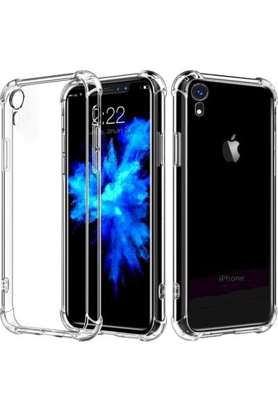PP Teknoloji Apple iPhone Xr Köşe Korumalı Şeffaf Silikon Kılıf