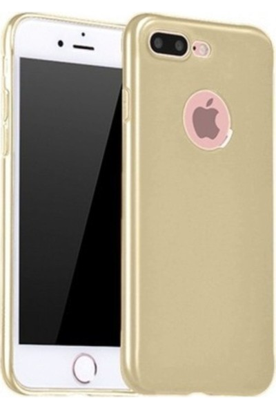 PP Teknoloji Apple iPhone 7 Plus Slim Silikon Kılıf - Gold