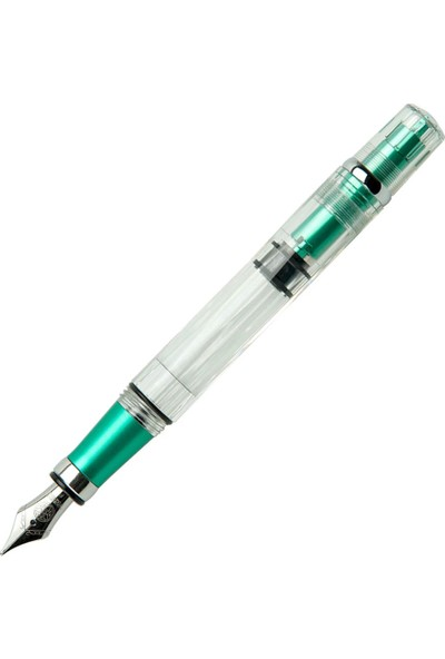 Twsbi Diamond 580AL Emerald Yeşil Dolma Kalem Kesik Uç 1.1 M7447200