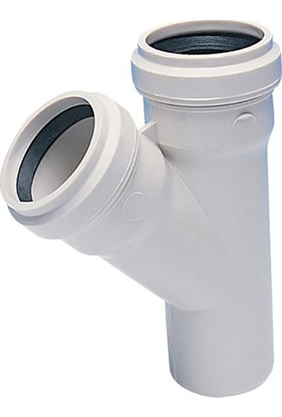 Hakan PVC Tek Çatal 45° 160 x 110 mm