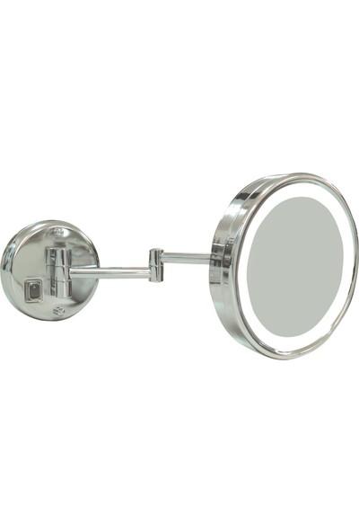 Soni̇a Omax Ayna Işıklı Çift Kollu Krom