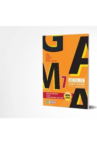 Gama Yayınları 7. Sınıf Tüm Dersler Fenomen Kamp Kitabı