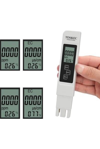 Knmaster TE-200 Tds Ec Metre Termometreli Su Kalite ve Iletkenlik Ölçüm Cihazı