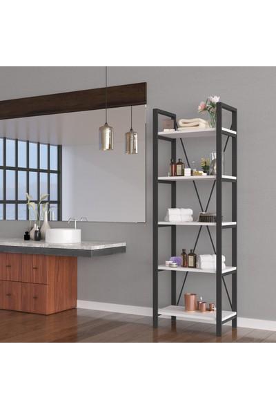 Wood House - Açelya Banyo Dolabı - Beyaz