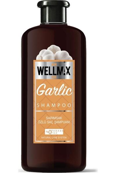 Wellmax Şampuan Yeni Formül Sarımsak Özlü 500ML