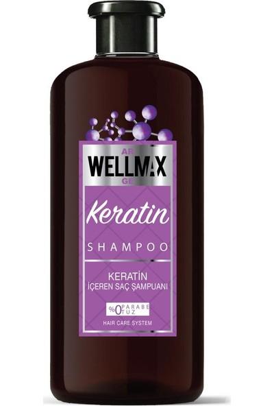 Wellmax Keratin Saç Şampuanı