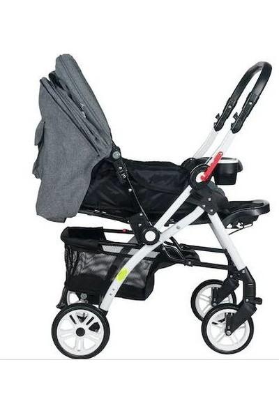 4 Baby Active Alüminyum Bebek Arabası + Yağmurluk