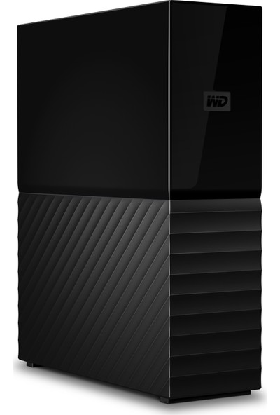 Wd My Book 10TB 3,5 Inc USB 3.0 Taşınabilir Disk WDBBGB0100HBK-EESN