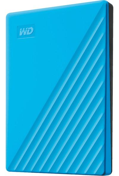 Wd My Passport 2tb 2.5 Inc USB 3.2 Mavi Taşınabilir Disk WDBYVG0020BBL-WESN