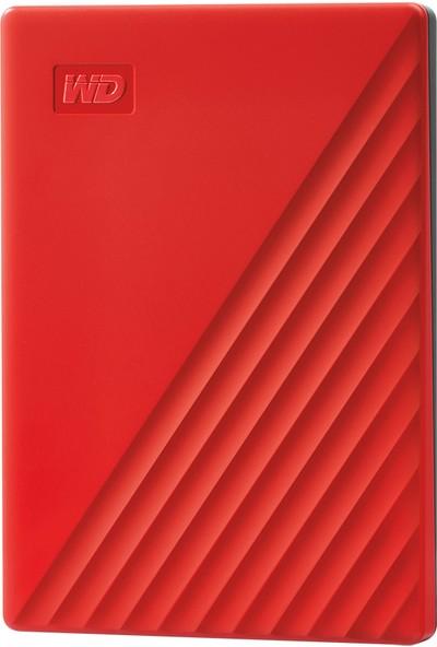 Wd My Passport 2tb 2.5 Inc USB 3.2 Kırmızı Taşınabilir Disk WDBYVG0020BRD-WESN