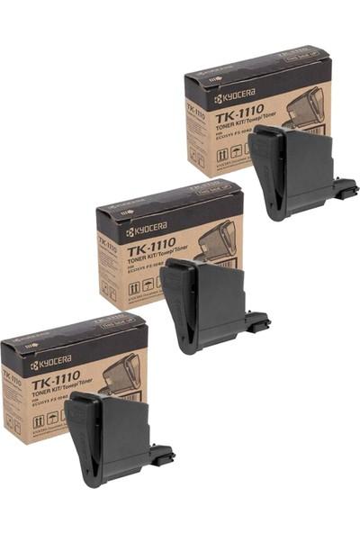 Kyocera TK1110 FS1020-FS1040-FS1120 Toner 3 Adet