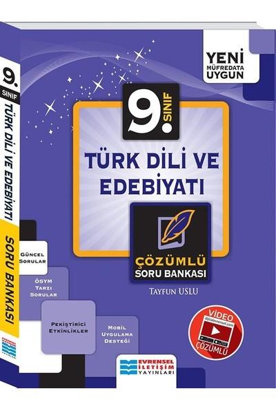 Evrensel İletişim Yayınları 9. Sınıf Türk Dili Ve Edebiyatı Soru Bankası