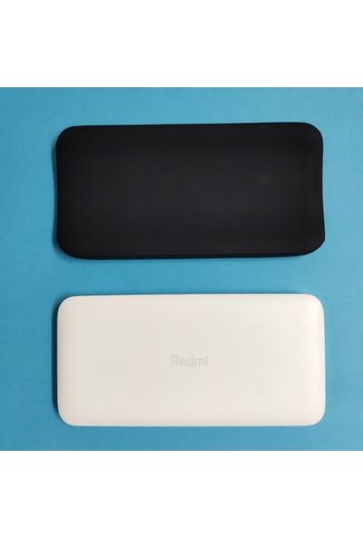 Case 4U Xiaomi Redmi 20000 Mah Taşınabilir Hızlı Şarj Cihazı Silikon Kılıf Siyah