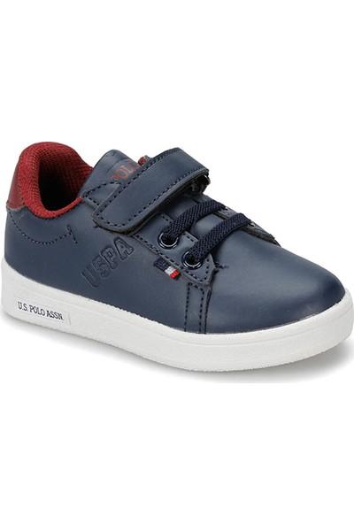 U.S. Polo Assn. Franco Lacivert Erkek Çocuk Sneaker