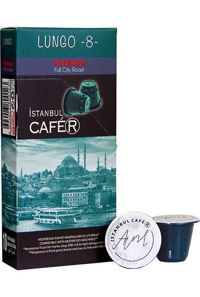 İstanbul Cafer Kahve Kapsül Lungo 10 Kapsül