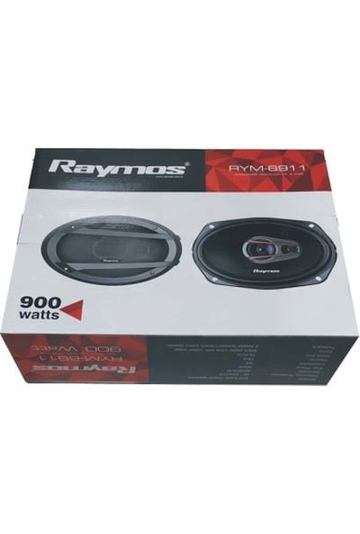 Raymos RYM-6911 Oto Oval 900 Watt Oto Hoparlör2